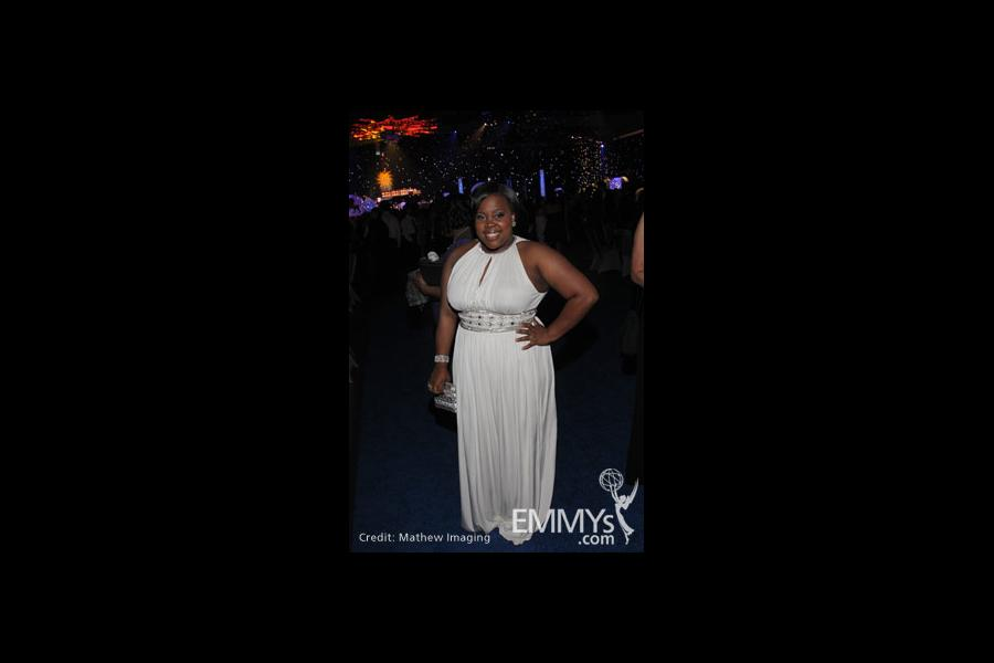 Amber Riley at the 62nd Primetime Emmy Awards Governors Ball