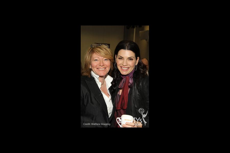 Brooke Kennedy and Julianna Margulies at An Evening With The Good Wife