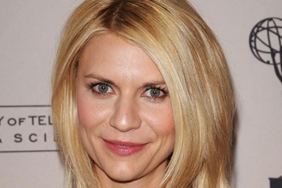 Claire Danes arrives at an Evening with Homeland