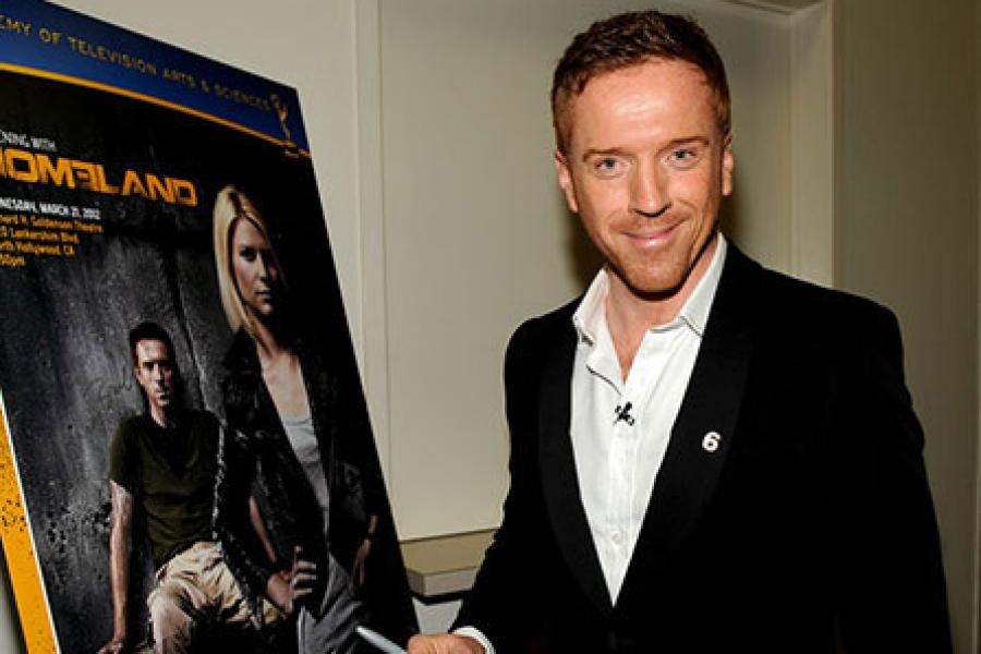 Damian Lewis attends an Evening with Homeland