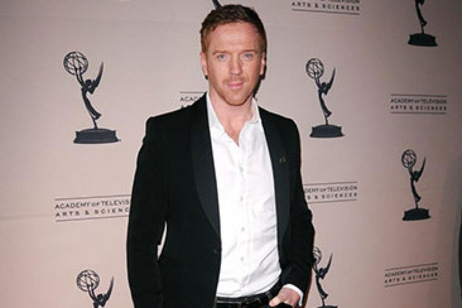 Damian Lewis arrives at an Evening with Homeland
