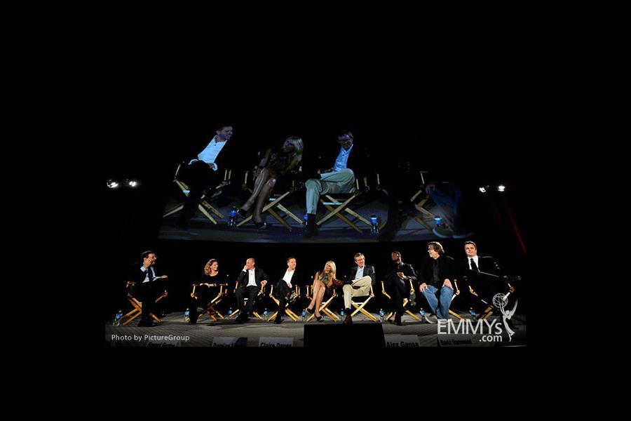Claire Danes, Damian Lewis, Howard Gordon, Alex Gansa, Brian Lowry, Meredith Stiehm, David Harewood, Henry Bromell, Sean Callery