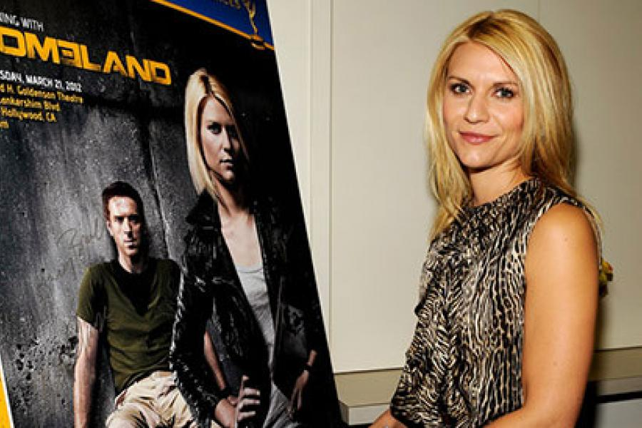 Claire Danes at an Evening with Homeland
