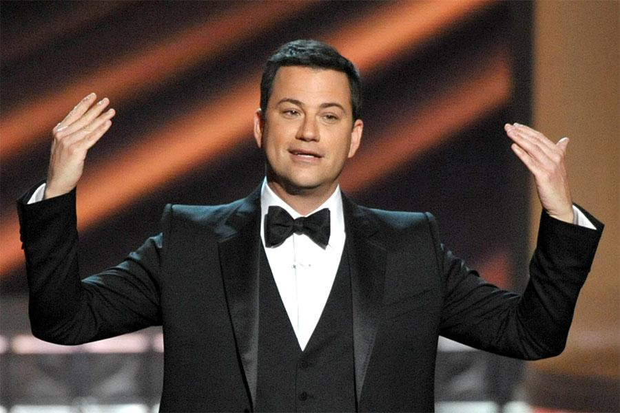 Jimmy Kimmel at the 64th Emmy Awards