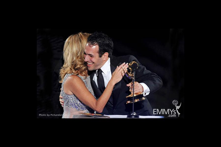 Dave Malkoff, Dorothy Lucey at the LA Area Regional Emmys