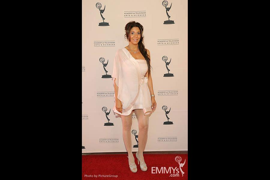 Christine Devine at the LA Area Regional Emmys