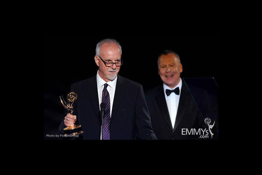 Steve Lopez at the LA Area Regional Emmys