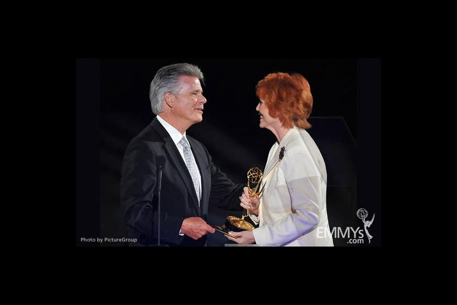 Chuck Henry, Stephanie Edwards at the LA Area Regional Emmys