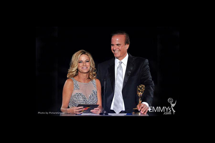 Dorothy Lucy, David Goldstein at the LA Area Regional Emmys