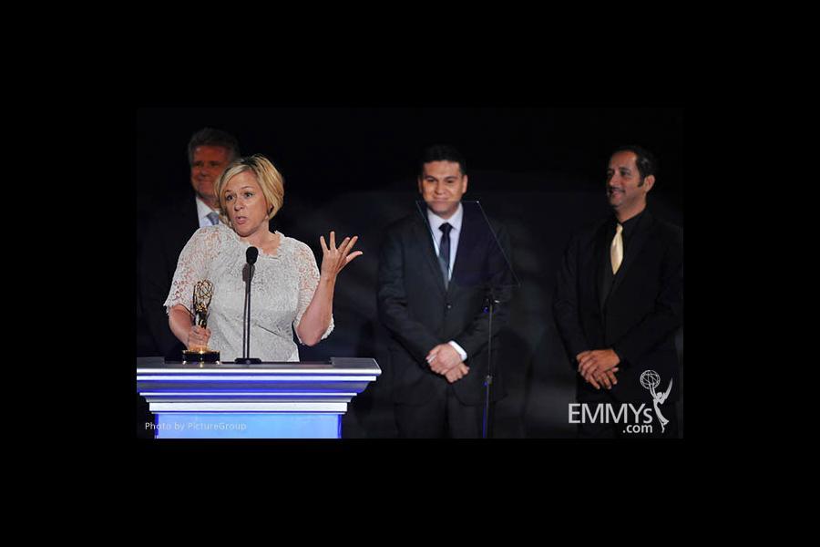Tara Wallis at the LA Area Regional Emmys