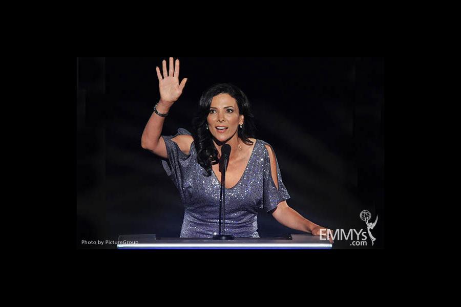 Gabriela Teissier at the LA Area Regional Emmys