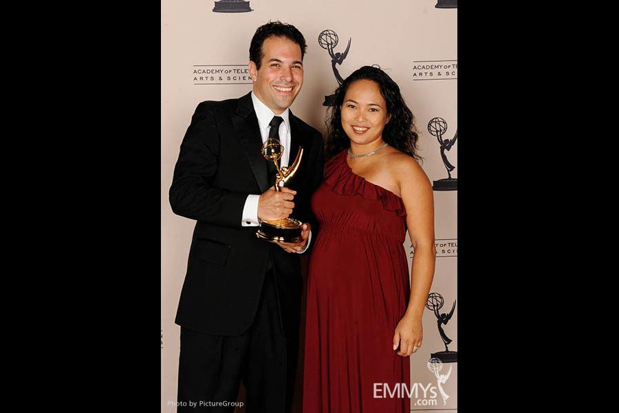 Dave Malkoff at the LA Area Regional Emmys