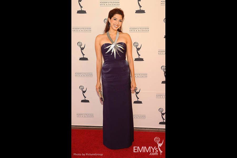 Viviana Vigil at the LA Area Regional Emmys