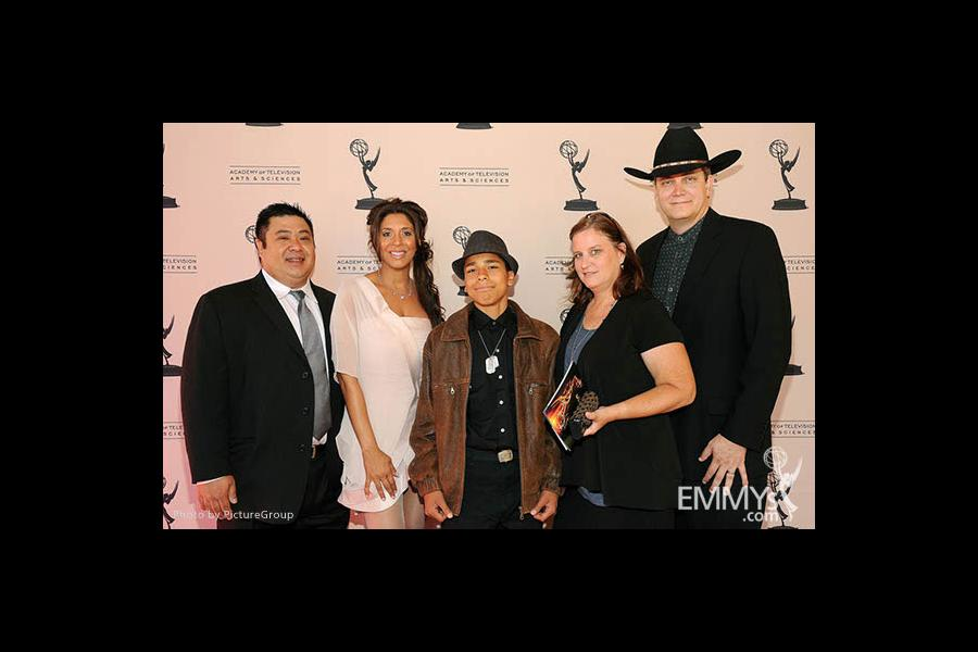 Christine Devine at the LA Area Regional Emmys