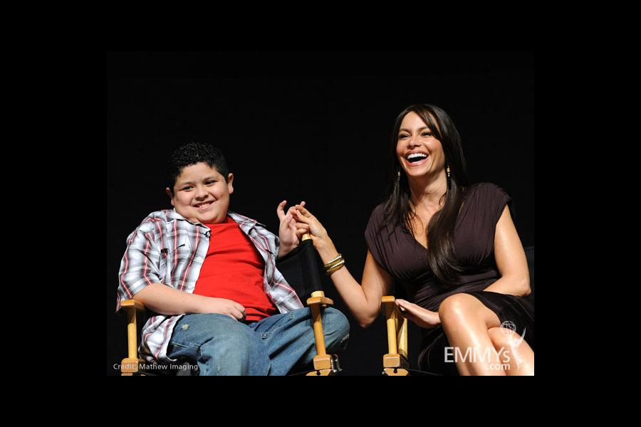 Modern Family - Rico Rodriguez and Sofia Vergara