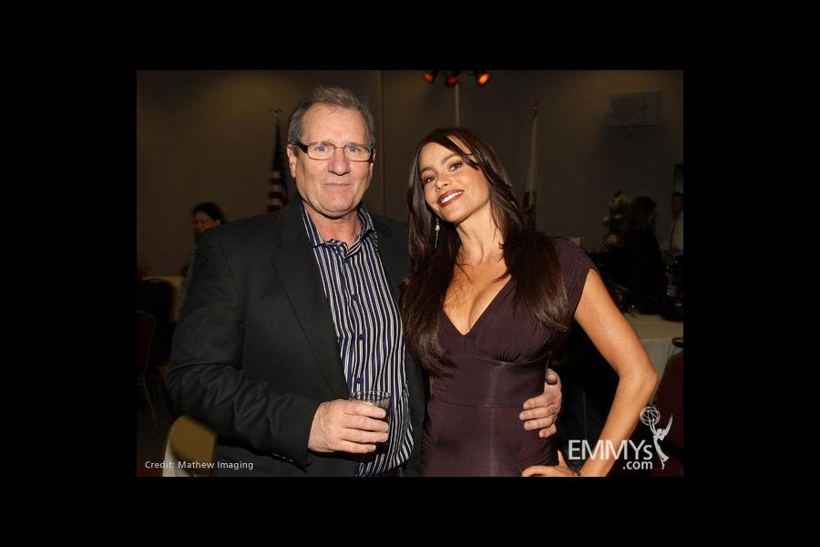 Modern Family - Ed O'Neill and Sofia Vergara
