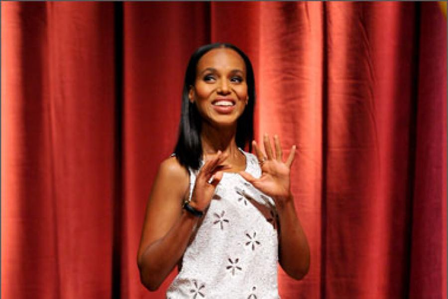 Kerry Washington at the 64th Primetime Emmy Awards Nominations Announcements