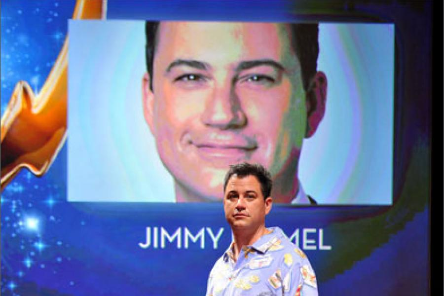 Jimmy Kimmel onstage at the 64th Primetime Emmy Awards Nominations