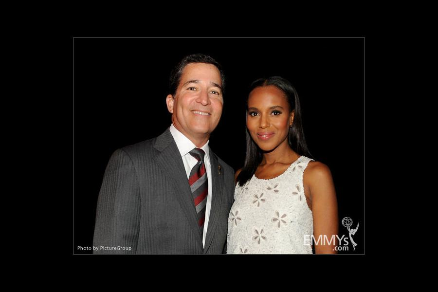 Kerry Washington and Bruce Rosenblum announce the 64th Primetime Emmy Awards Nominations
