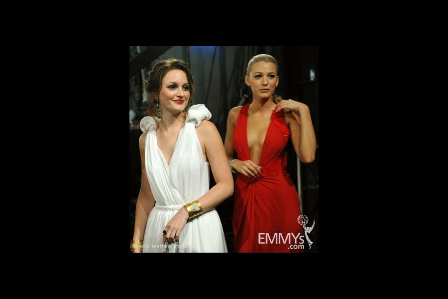 Actresses Leighton Meester and Blake Lively