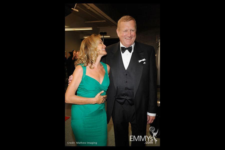 Actors Jessica Lange and Ken Howard