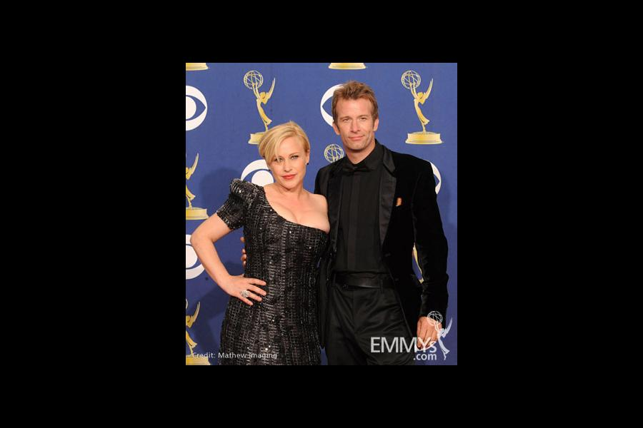 Actors Patricia Arquette and Thomas Jane