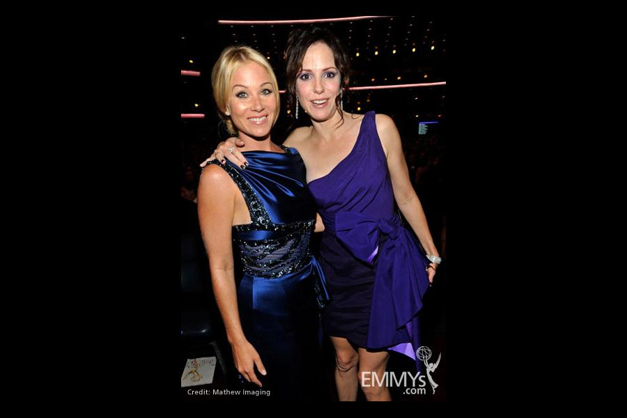 Actresses Christina Applegate and Mary-Louise Parker