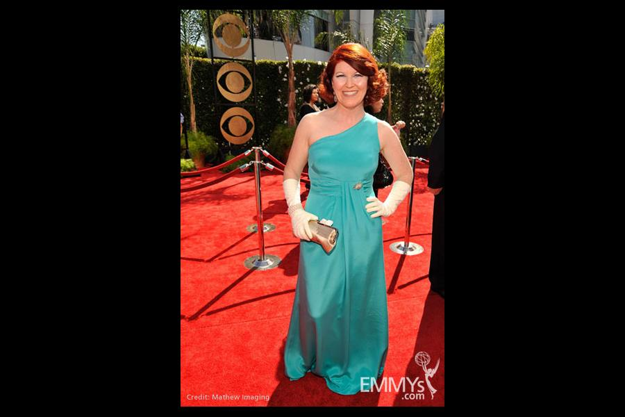 Kate Flannery at the 61st Primetime Emmy Awards