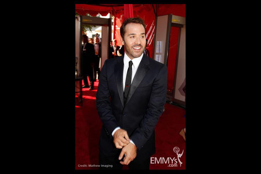 Jeremy Piven at the 61st Primetime Emmy Awards