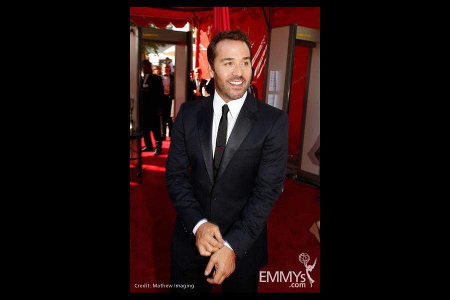 Jeremy Piven at the 61st Primetime Emmy Awards