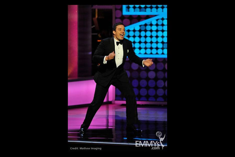 Presenter Jimmy Fallon