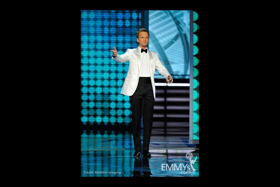 Host Neil Patrick Harris