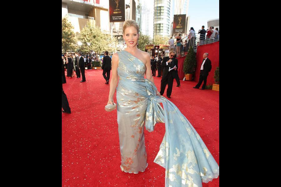 Christina Applegate at the 60th Primetime Emmy Awards