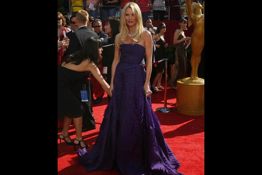 Nicollette Sheridan at the 60th Primetime Emmy Awards