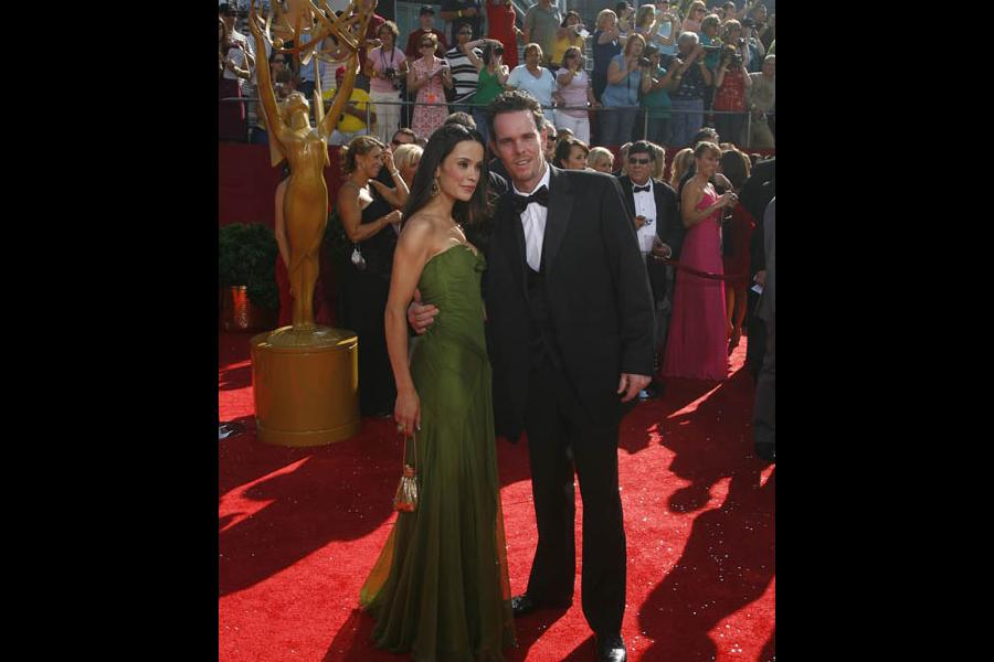 Entourage co-star Kevin Dillon with wife Jane Stuart at the 60th Primetime Emmy Awards