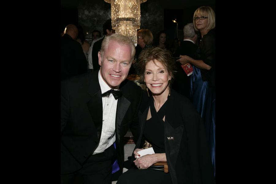 Desperate Housewives co-star Neal McDonough and Mary Tyler Moore at the 60th Primetime Emmy Awards