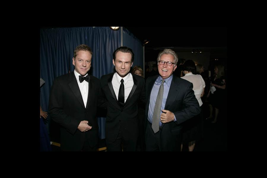 24 star Kiefer Sutherland, My Own Worst Enemy star Christian Slater and The West Wing star Martin Sheen