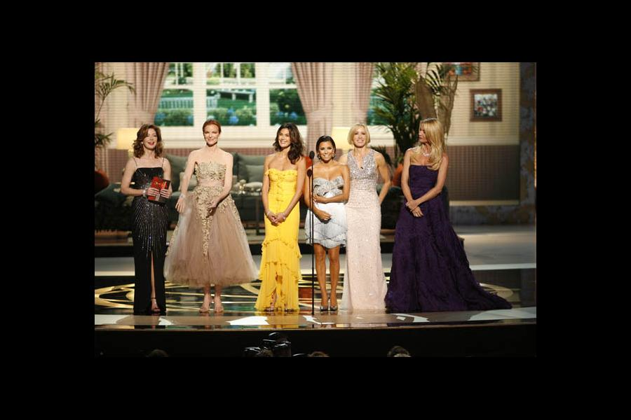 Desperate Housewives co-stars Dana Delany, Marcia Cross, Teri Hatcher, Eva Longoria Parker, Felicity Huffman and Nicollette