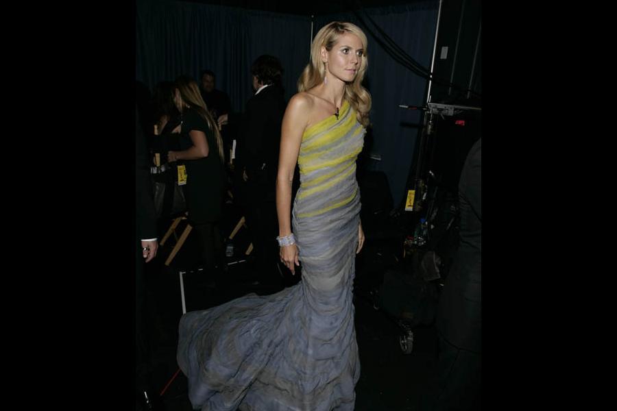 Heidi Klum at the 60th Primetime Emmy Awards