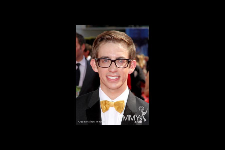 Kevin McHale arrives at the 62nd Annual Primetime Emmy Awards held at the Nokia Theatre