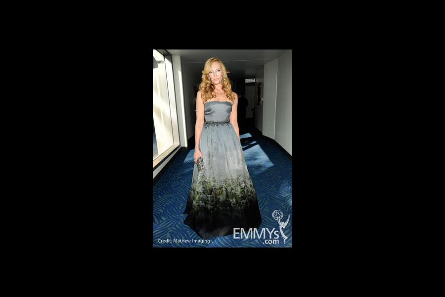 Actress Toni Collette attends the 62nd Annual Primetime Emmy Awards held at Nokia Theatre