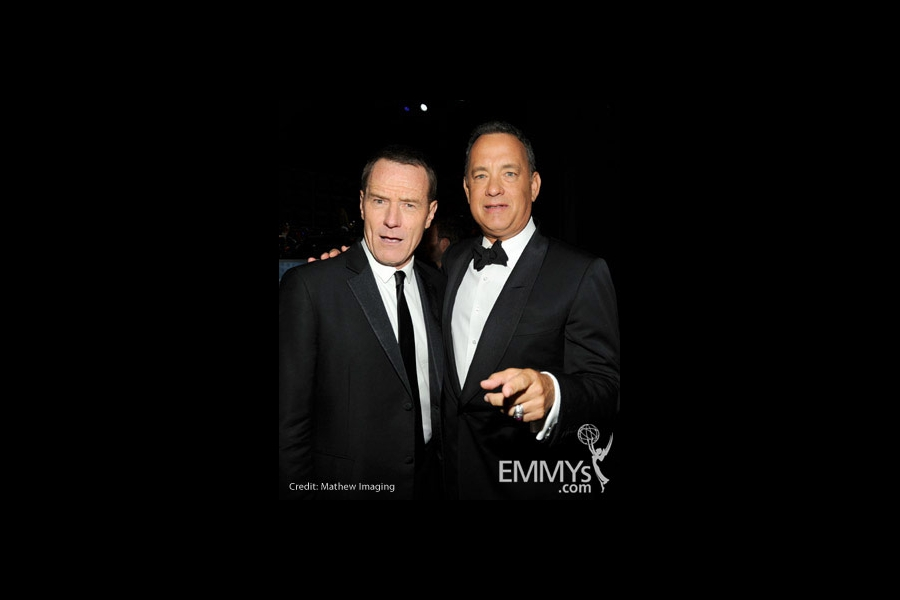 Bryan Cranston and Tom Hanks