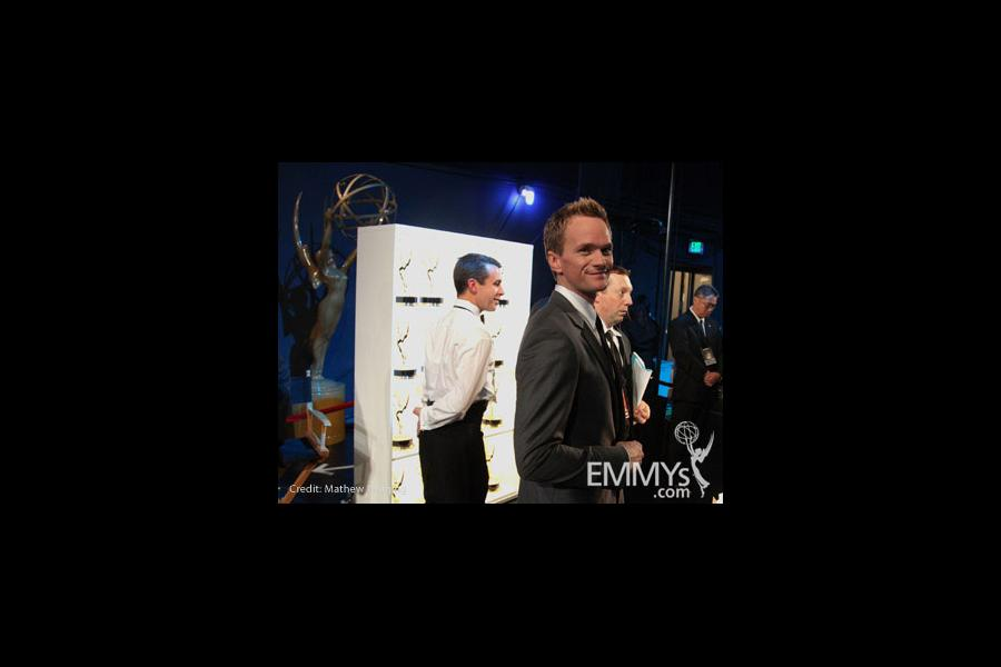 Neil Patrick Harris at the 62nd Annual Primetime Emmy Awards held at Nokia Theatre