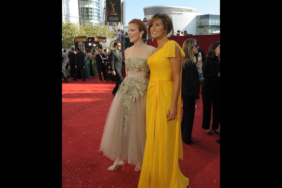 Red Carpet & Greenroom -  Marcia Cross & Mariska Hartigay