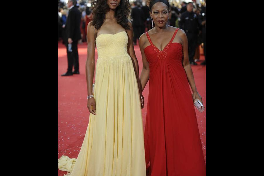 Red Carpet & Greenroom — Alfre Woodard with daughter Mavis