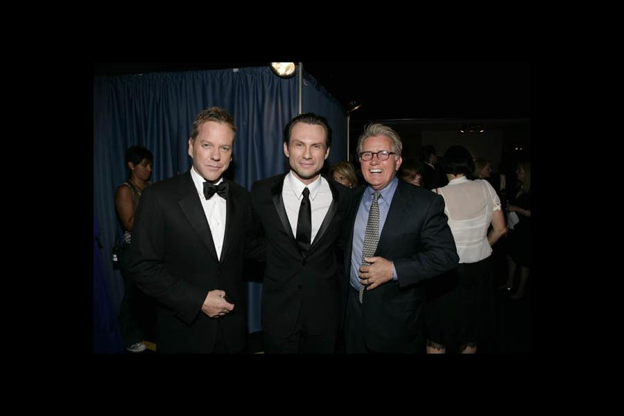Red Carpet & Greenroom -  Kiefer Sutherland, Christian Slater and Martin Sheen