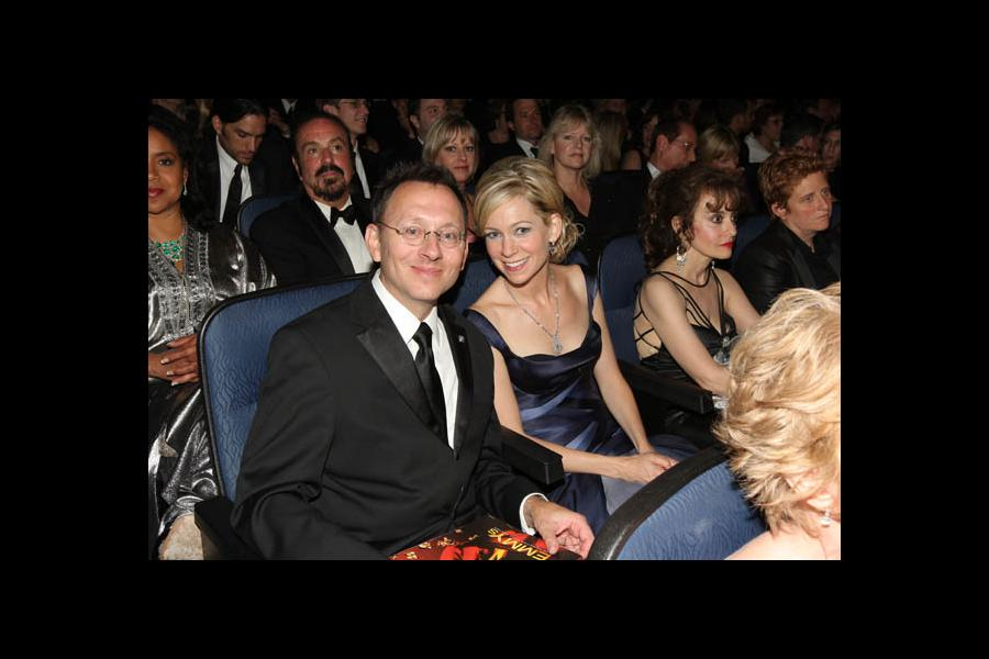 Michael Emerson & Carrie Preston - 60th Primetime Emmys - Show & Audience