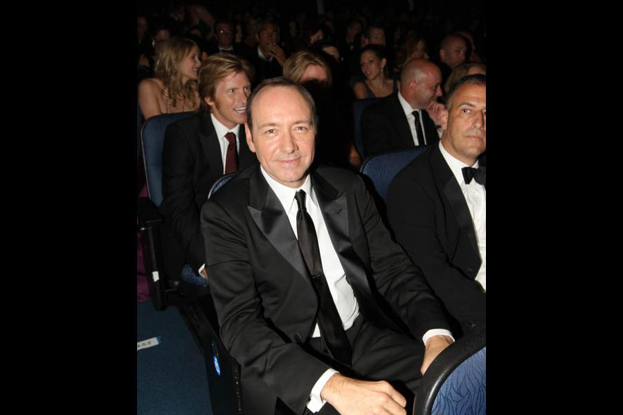 Kevin Spacey at the 60th Primetime Emmys