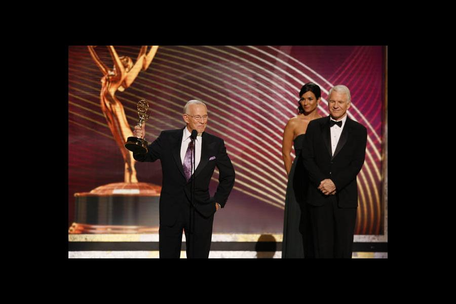 Tom Smothers & Steve Martin at the 60th Primetime Emmys