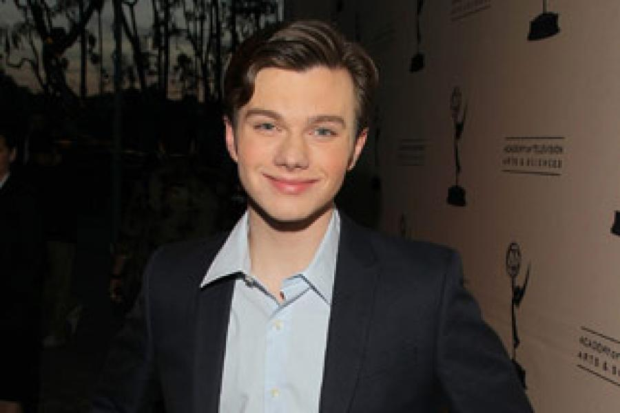Chris Colfer as Kurt Hummel in Glee — Fox